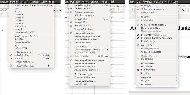 A LibreOffice 5.1 funkciói