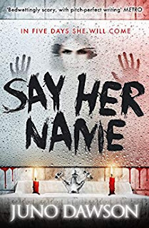 Say Her Name by Juno Dawson cover