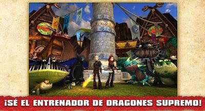 Videojuego Escuela de Dragones