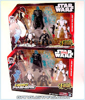 Star Wars Jedi ROTJ Darth Vadar Han Solo Hasbro Hero Mashers action figures Star Wars スターウォーズ