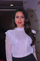 Pragya Jaiswal in lovely Black Mini Skirt and White Transparent Shirt ~  Exclusive 029.JPG
