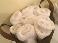Basket for Wash Cloths