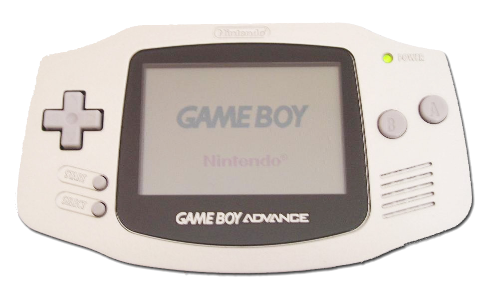 Imagen con la consola portable Nintendo Game Boy Advance, 2001, Fotografía: Zeartul (cc:by-sa)