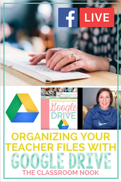 Feel like your teacher files are spewed all over your computer desktop?  Watch this FREE workshop to learn how you can organize all of your digital files for GOOD with google drive.