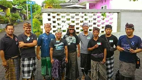 Kader-PKS-Bali-Jadi-Pecalang