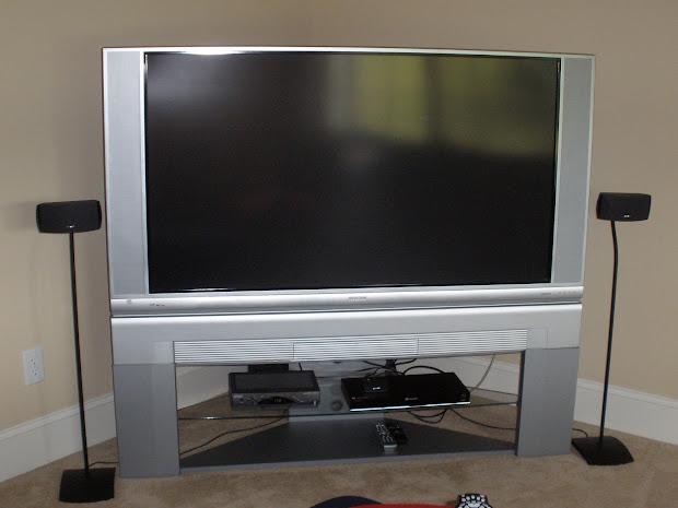 60 Mitsubishi Rear Projection TV