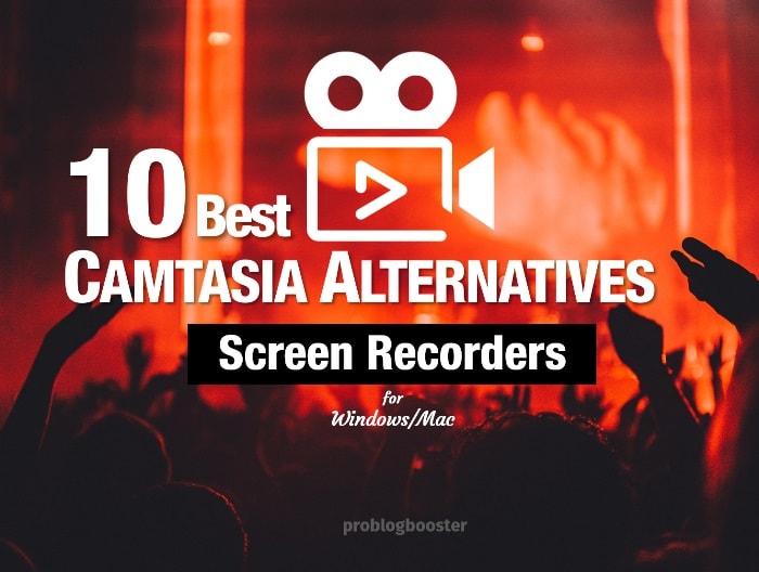 Camtasia Alternatives Screen Recorders For Windows/Mac