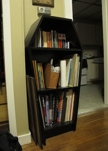 Mina Burrows Creepy Bookshelf Ideas
