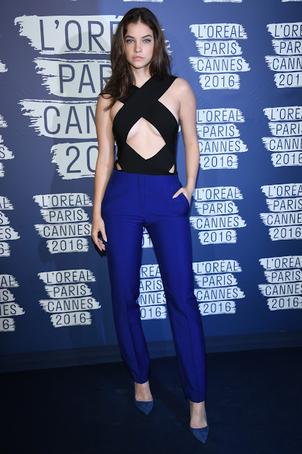 Actress, Model, @ Barbara Palvin - L'Oreal Paris Blue Obsession Party in Cannes
