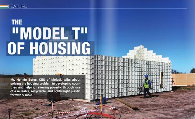 Construction technology moladi plastic formwork low for Alternative home building methods
