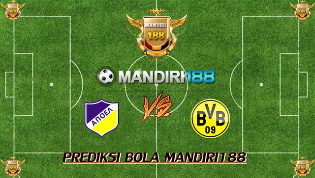 AGEN BOLA - Prediksi APOEL Nicosia vs Borussia Dortmund 18 Oktober 2017