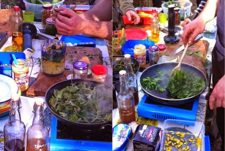 Foodie Quine - Spring Woodland & Coastal Foraging