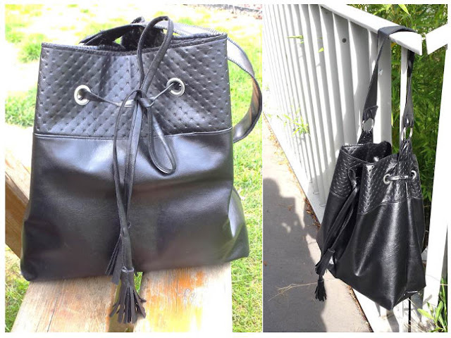 Coudre du simili cuir mod le de sac bourse bettinael passion couture made i - Qu est ce que le simili cuir ...