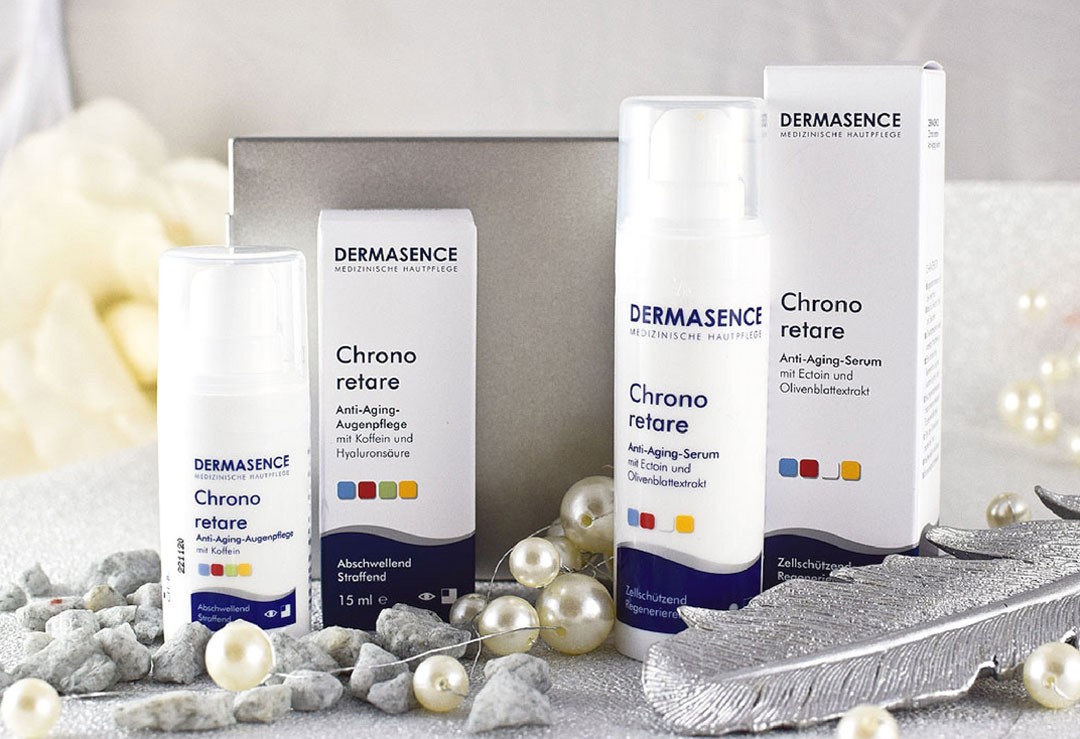 Dermasence Chrono retare Anti Aging, Review, neue Pflege Serie