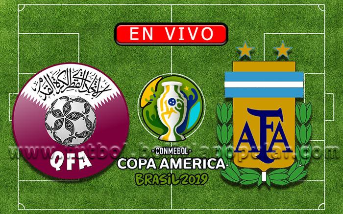Catar vs. Argentina - Copa América Brasil 2019