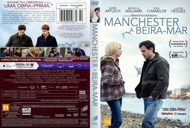Capa DVD Manchester à Beira-Mar [Exclusiva]