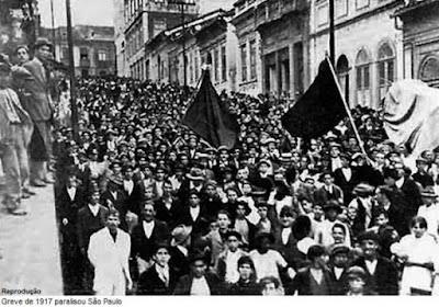 Os 100 anos da Greve Geral de 1917: um curto relato