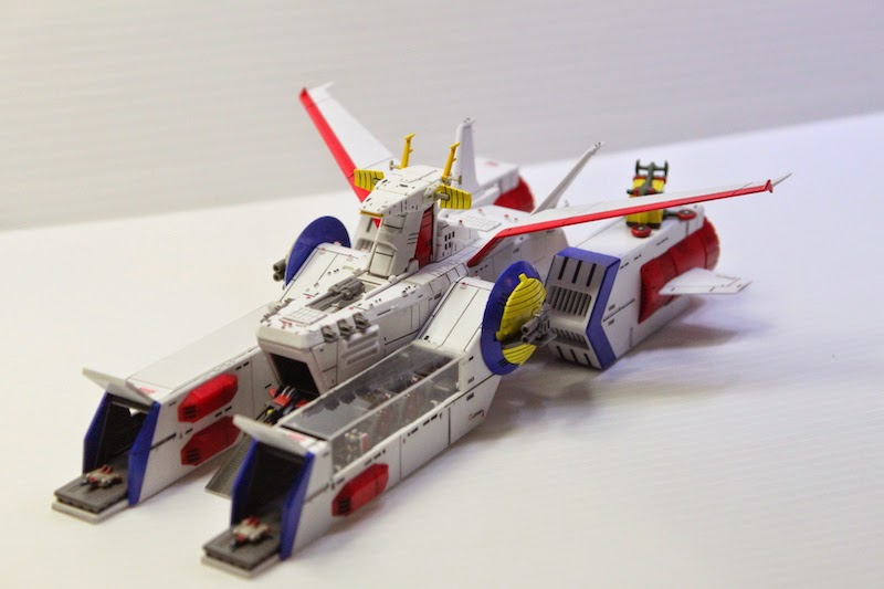 Custom Build: EX Model 1:1700 Whitebase