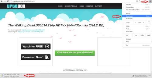 Cara melihat hasil download