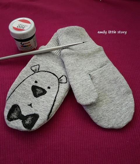 Rękawiczki – kurs szycia bez wykroju