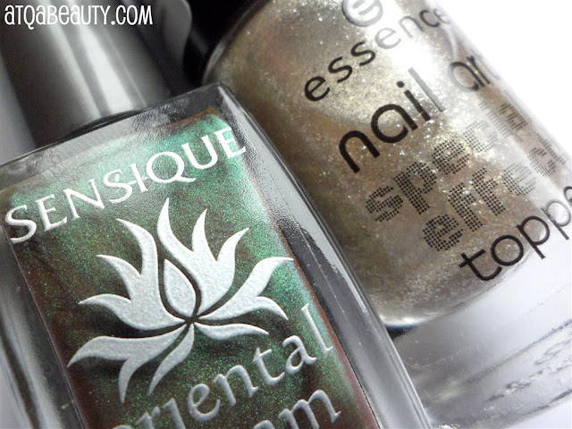 Sensique, Oriental Dream, LE, 259 Moss Temple :: Essence, Nail Art, Special Effect!, Topper, 06 You're a Gold Mine