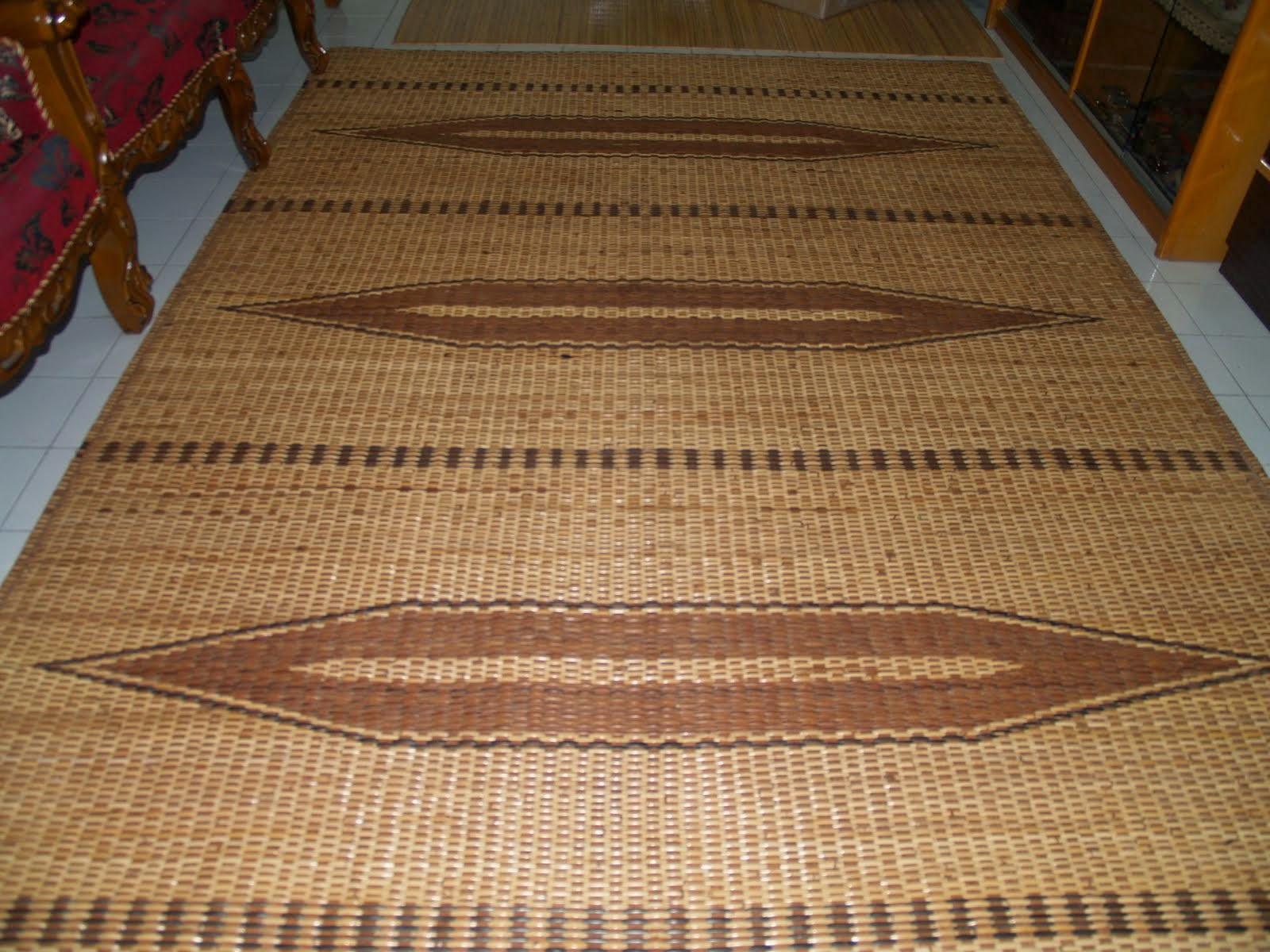 Tikar Sarawak Cantik Untuk Ruang Tamu