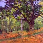 'El roure de Bodmer, bosc de Fontainebleau (Oscar-Claude Monet)'