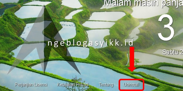 tutorial delete luckystarting di browser