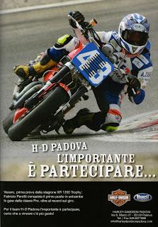 hd padova pubblicità 2009 trofeo xr1200