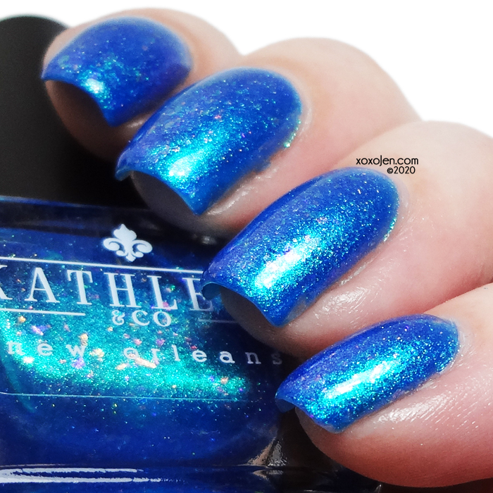 xoxoJen's swatch of Kathleen & Co Water Goddess