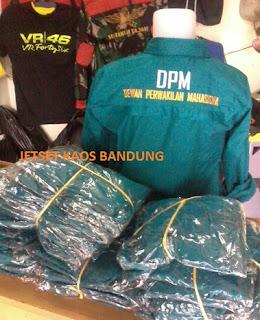 Jasa Konveksi Kemeja bandung, Buat Baju Kemeja Kaos Kelas Kampus Murah Bandung
