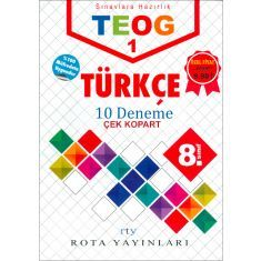 Rota Yayınları 8.Sınıf TEOG 1 Türkçe 10 Deneme (2017)