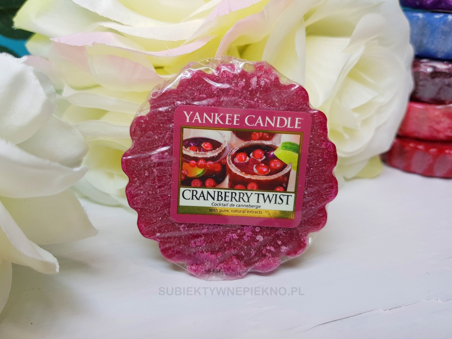Cranberry Twist Yankee Candle