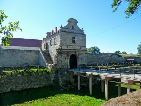 Збараж. Крепость. Мост