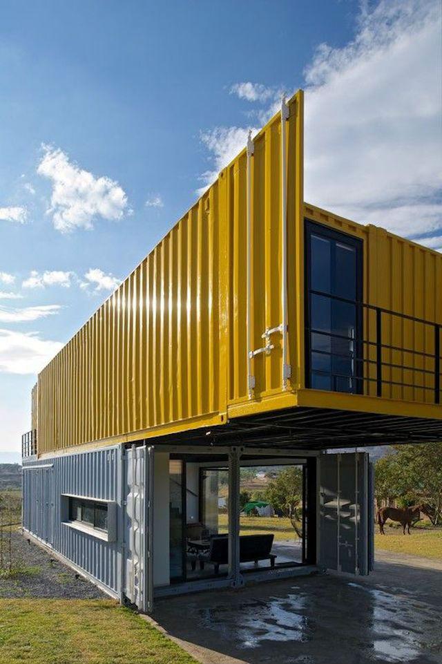 Proyecto de vivienda con contenedores marítimos