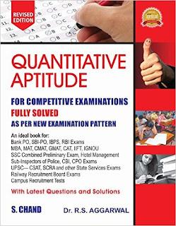 Download RS Aggarwal Quantitative Aptitude Free Book PDF