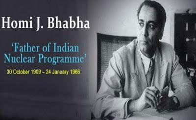 Homi Jehangir Bhabha-life-history-(1909 అక్టోబర్ 30-1966 జనవరి 24)-హోమీ జహంగీర్ భాభా ప్రఖ్యాత అణు భౌతిక శాస్త్రవేత్త. భారత అణు శాస్త్ర పితామహుడు.