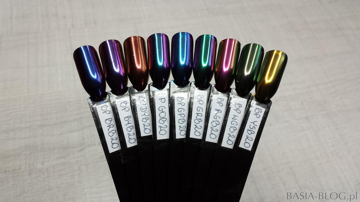 Born Pretty chameleon nail powder top grade mirror effect AliExpress pyłki kameleony do paznokci, BRB20, BYB20, DYB20, GOB20, GPB20, GRB20, RGB20, WGB20, YSB20