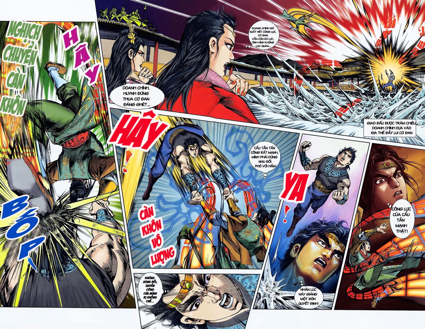 Tần Vương Doanh Chính chapter 2 trang 22