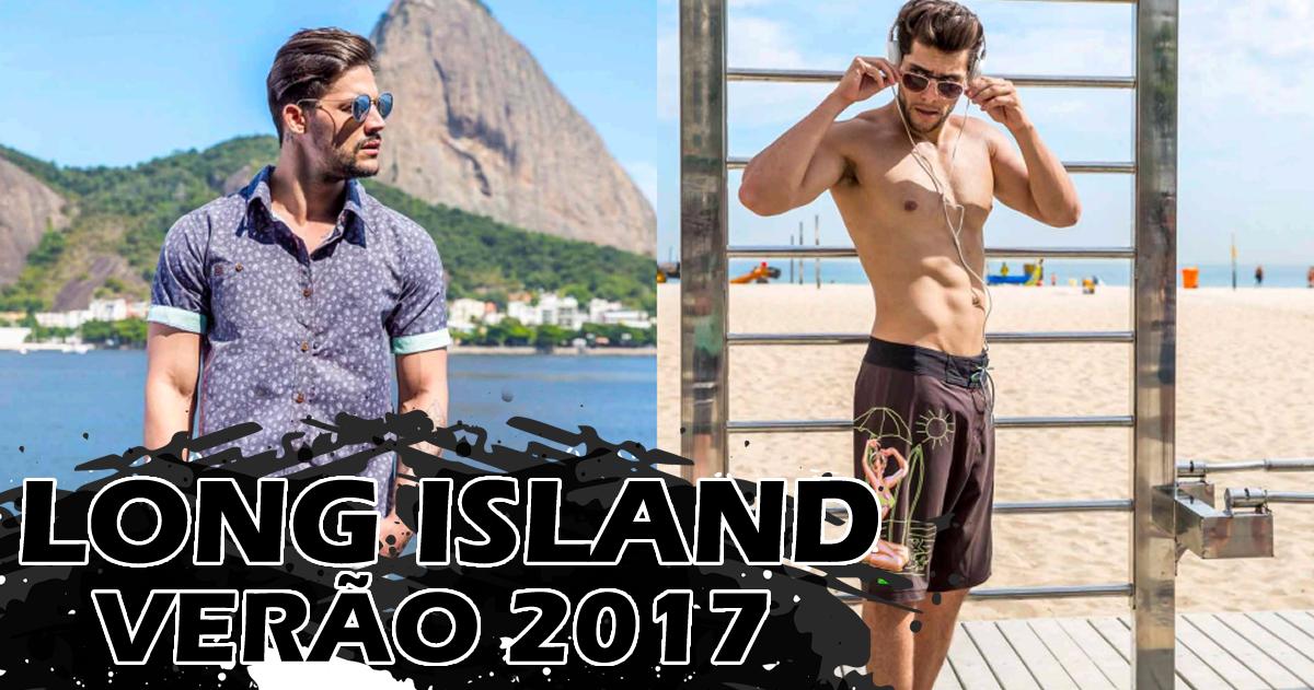 coleção de verão masculina  - long island