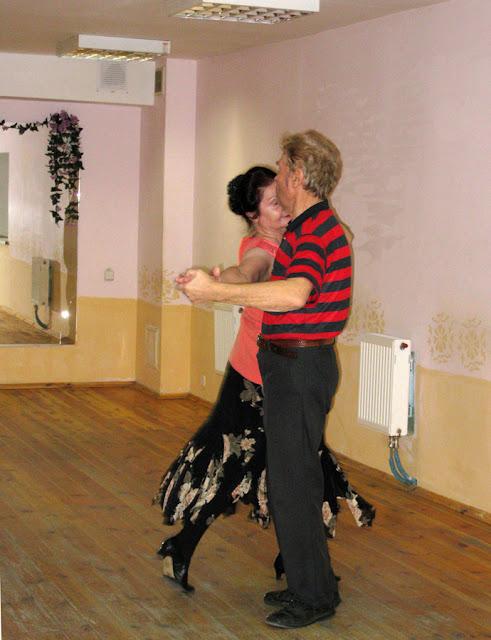 Фото Виталия Бабенко: занятия по танцам