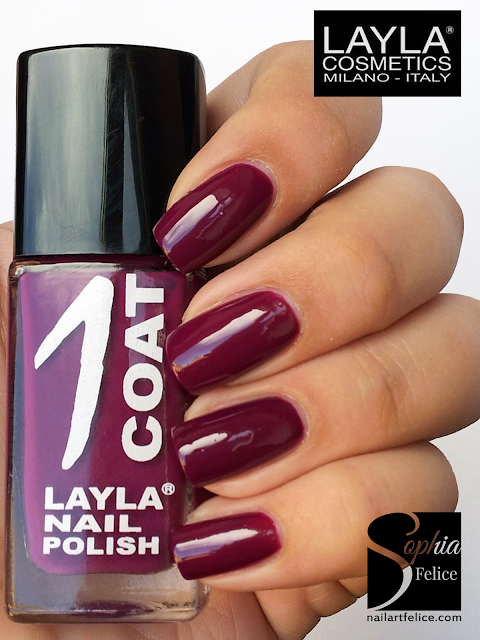 one coat layla n°23 - cranberry