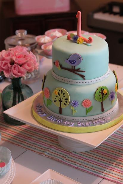 Girls 2nd Birthday Cake Ideas
