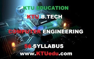 KTU B-Tech (S5-S6) Computer Science & Engineering Fifth And Sixth Semester Course Syllabus & Course Plan