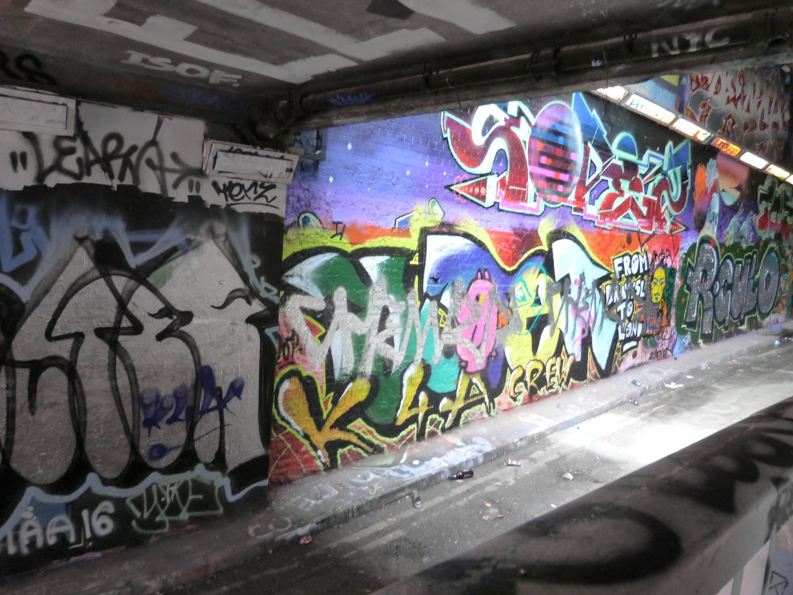 Things to do in London - Leake Street Graffiti Tunnel