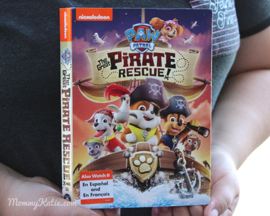 Paw patrol the great pirate rescue on dvd mommy katie paw patrol the great pirate rescue on dvd fandeluxe Gallery