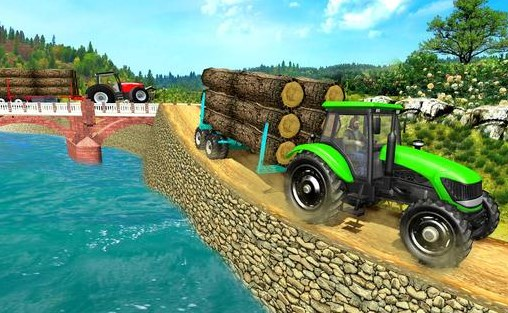 Real Tractor Trolley Cargo Farming Simulation Game Apk Free on Android Game Download