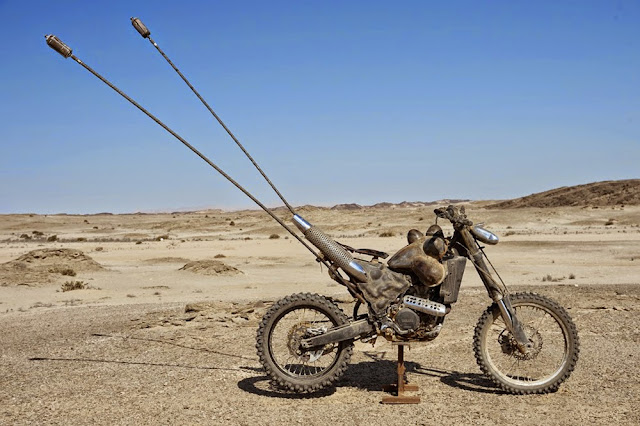 Motorcycle from Mad Max 11
