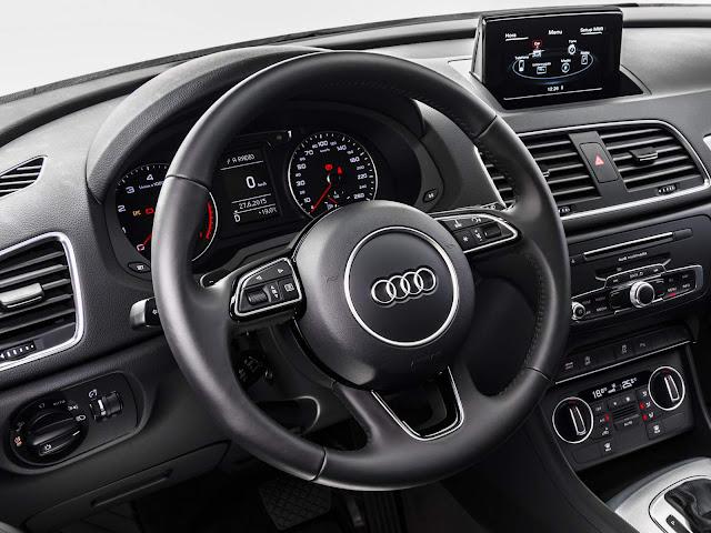 Audi Q3 2016 interior