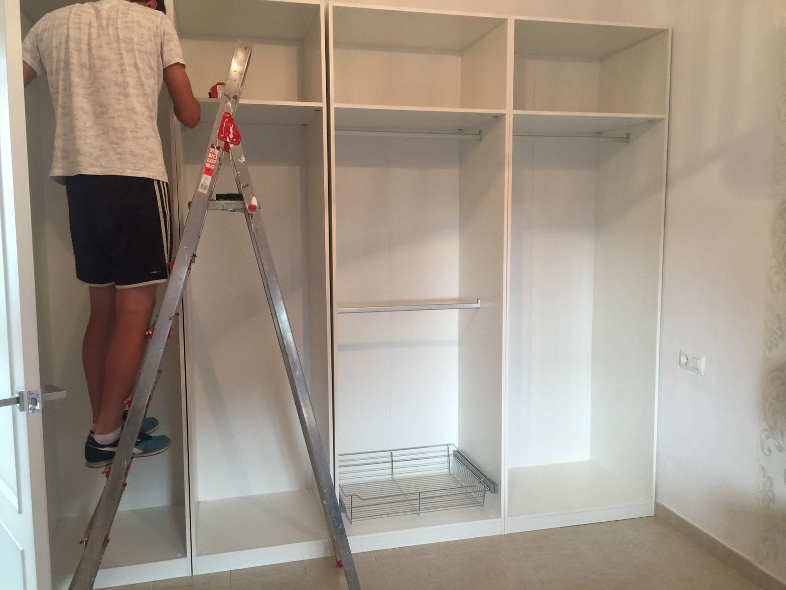 Mi dormitorio parte i como montar un armario vestidor - Armarios para montar ...